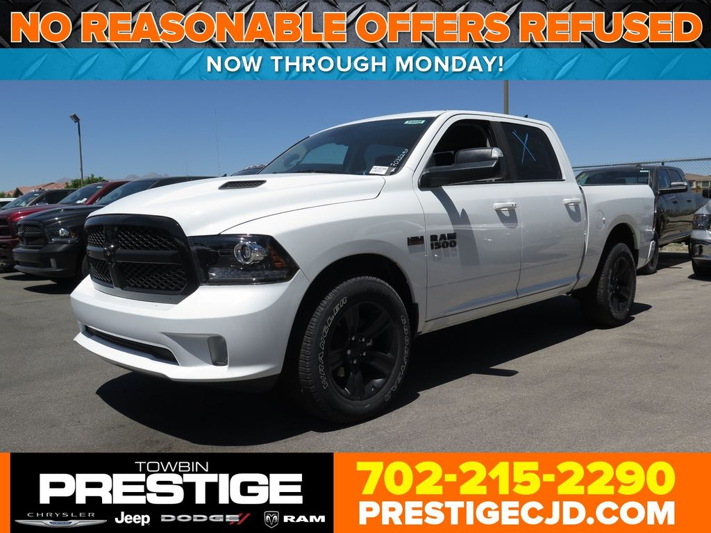 "2017 Ram 1500 Night 4x4 Crew Cab 5'7"" Box - 16732238 - 0"