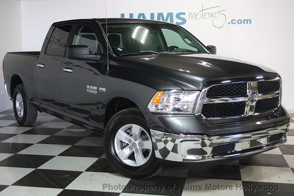 2017 used ram 1500 slt 4x4 crew cab 5 39 7 box at haims motors serving fort lauderdale hollywood. Black Bedroom Furniture Sets. Home Design Ideas