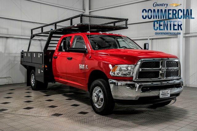 2017 Ram 3500 Chassis Cab 3500 CREW 4X4 * 6.7 CUMMINS * AISIN * NEW CONCRETE BODY - 17543662 - 0