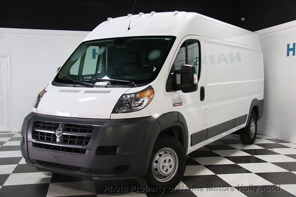 2017 Used Ram Promaster Cargo Van 2500 High Roof 159 Quot Wb