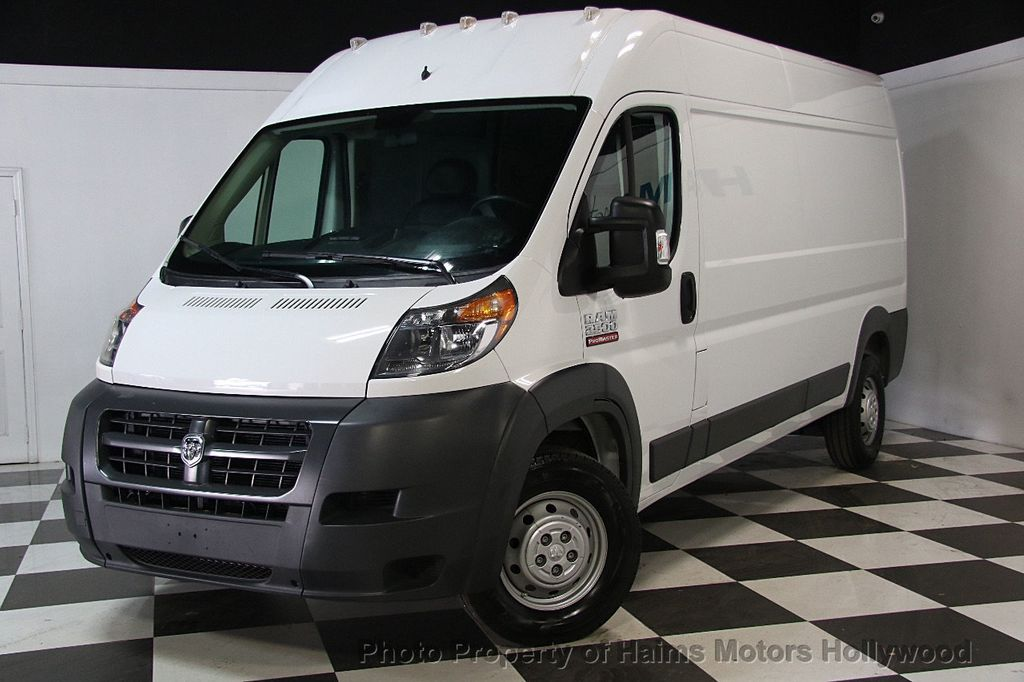 2017 used ram promaster cargo van 2500 high roof 159 wb at haims motors serving fort lauderdale. Black Bedroom Furniture Sets. Home Design Ideas