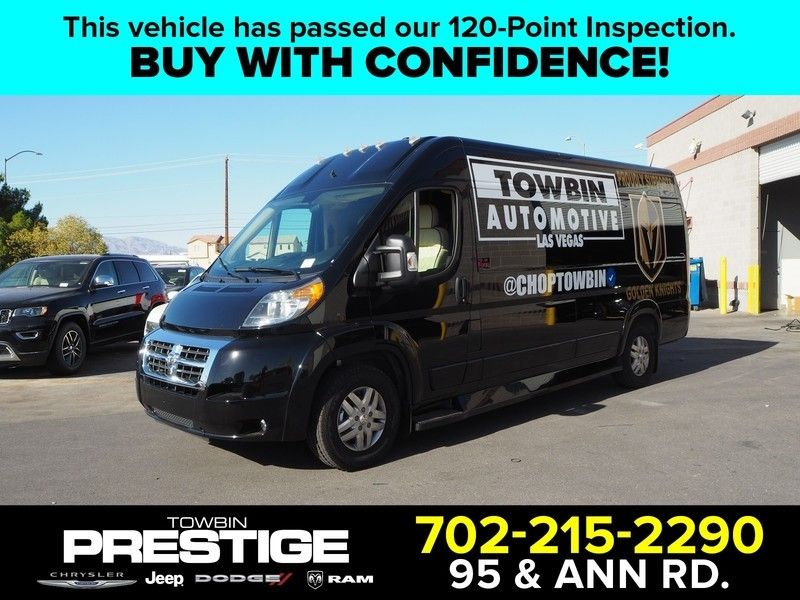 "2017 Ram ProMaster Cargo Van 3500 High Roof 159"" WB EXT - 17604077 - 0"