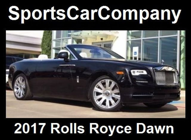 2017 Rolls Royce Dawn Convertible 16337887 0