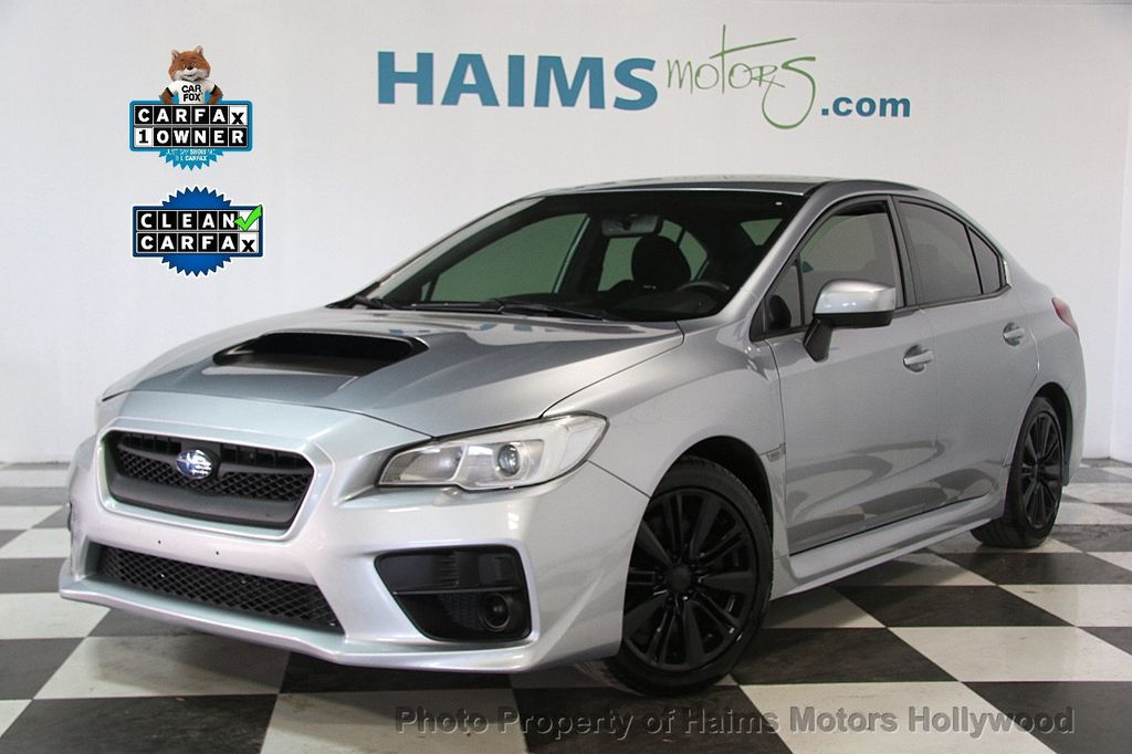 2017 Used Subaru WRX Manual at Haims Motors Hollywood Serving Fort