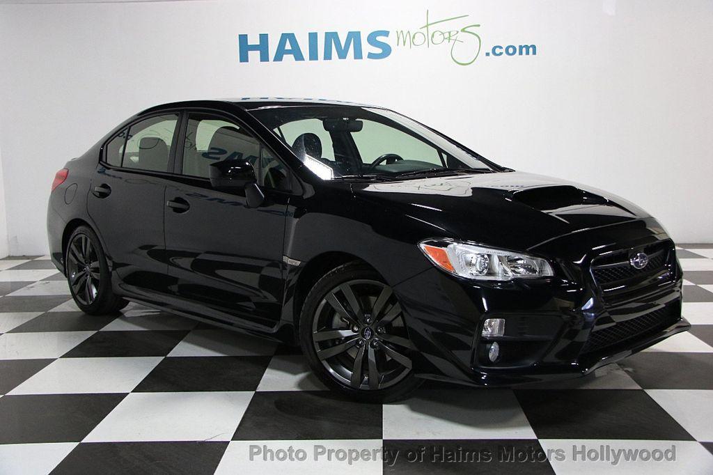 למעלה 2017 Used Subaru WRX Premium Manual at Haims Motors Hollywood BX-11