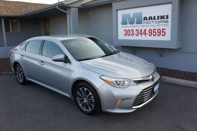 Bmw Dealership Denver >> 2017 Used Toyota Avalon XLE at Maaliki Motors Serving Aurora, Denver, CO, IID 18015332