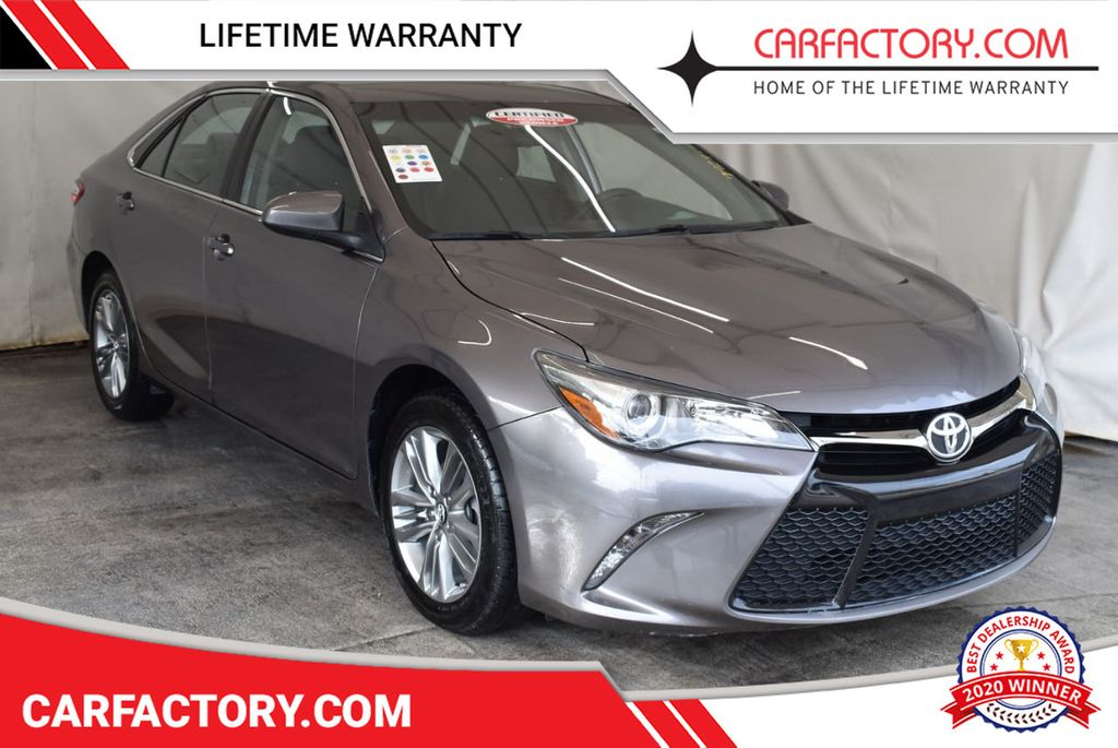 2017 Toyota Camry LE Automatic - 18359637 - 0