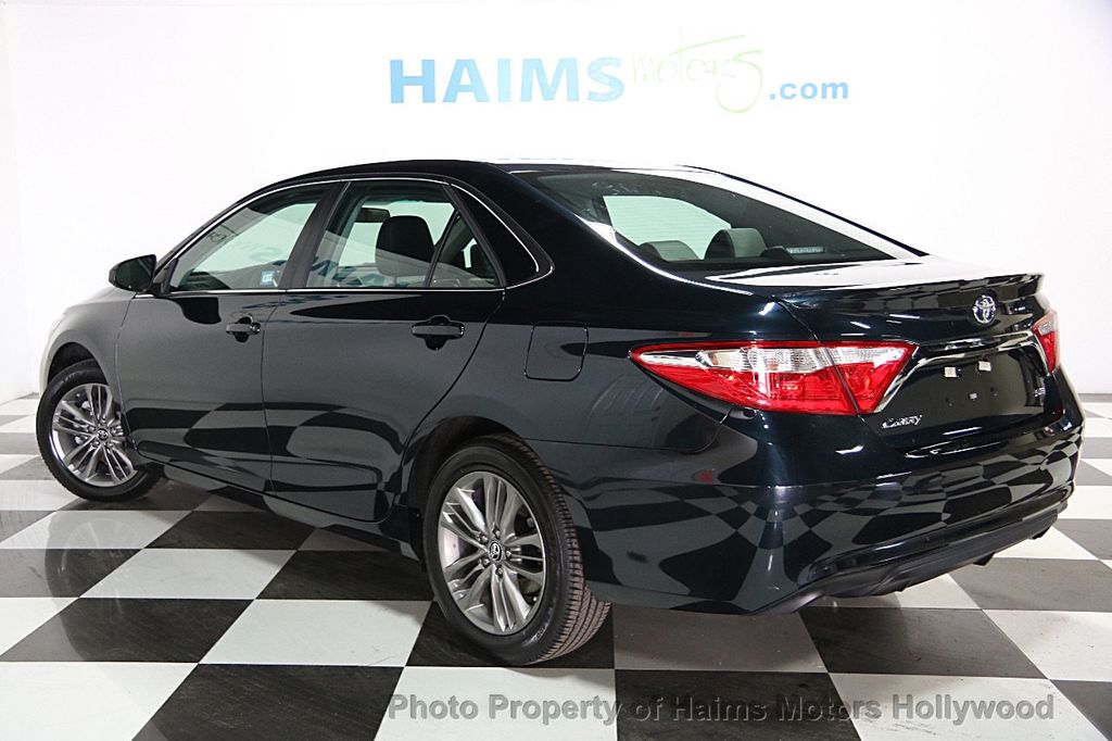 2017 used toyota camry se automatic at haims motors serving fort