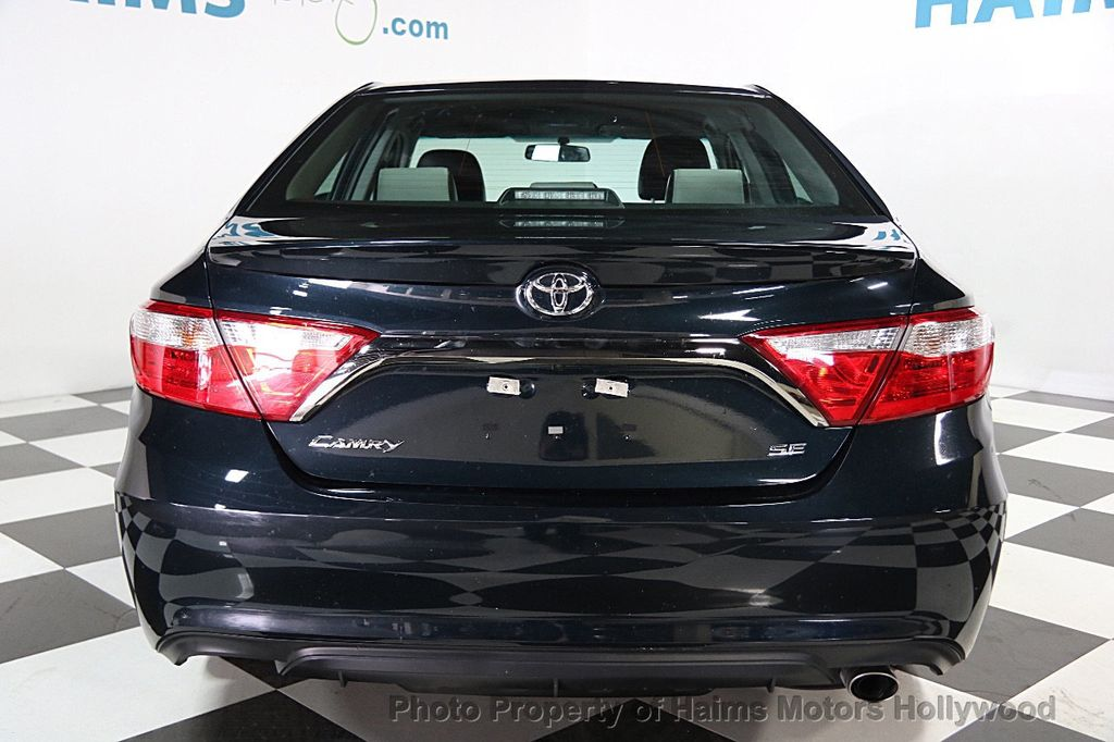 2017 used toyota camry se automatic at haims motors hollywood serving fort lauderdale hollywood. Black Bedroom Furniture Sets. Home Design Ideas