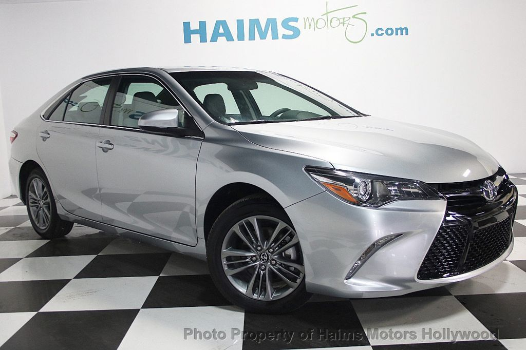 2017 Used Toyota Camry Se Automatic At Haims Motors Serving Fort Lauderdale Hollywood Miami