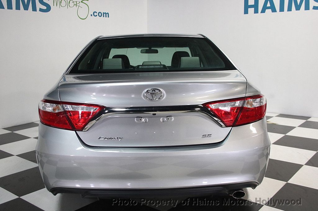 2017 Toyota Camry SE Automatic - 16848646 - 5