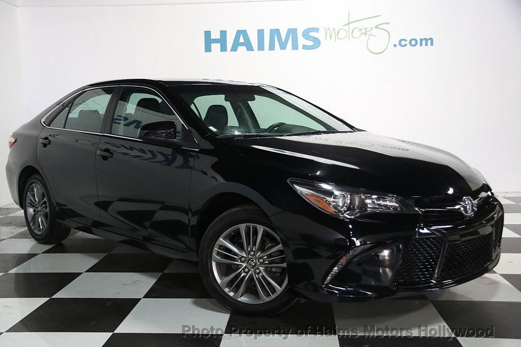 2017 Used Toyota Camry SE Automatic at Haims Motors ...