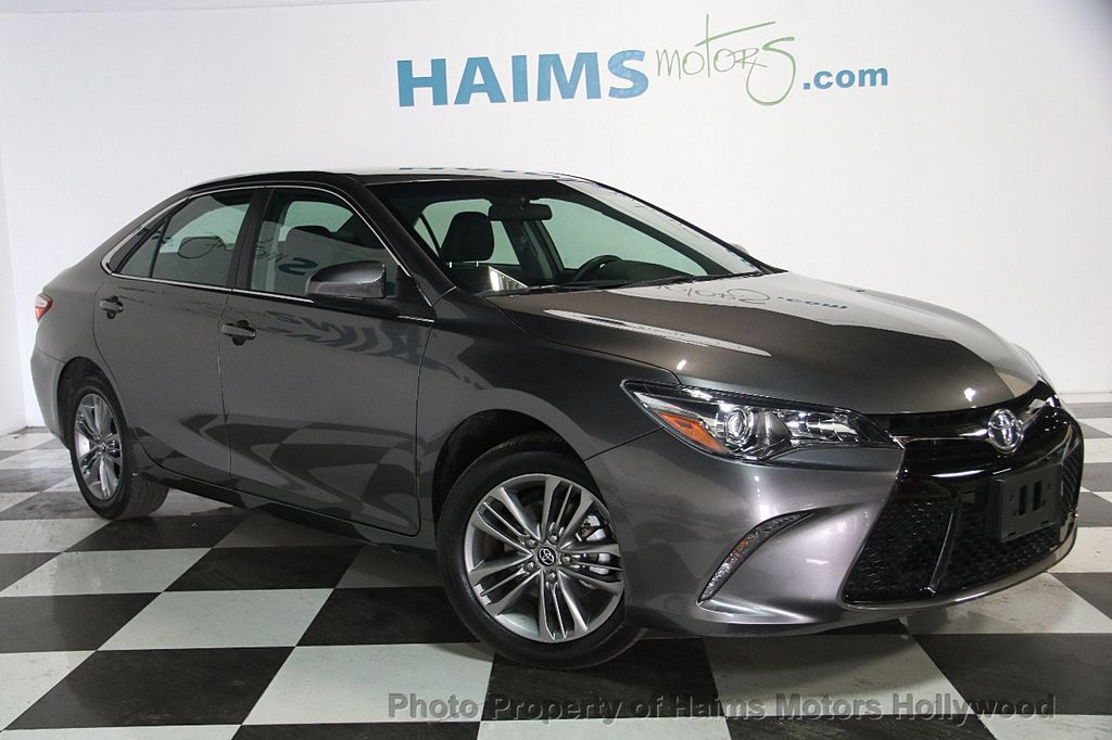 2017 used toyota camry se automatic at haims motors ft lauderdale serving lauderdale lakes fl. Black Bedroom Furniture Sets. Home Design Ideas