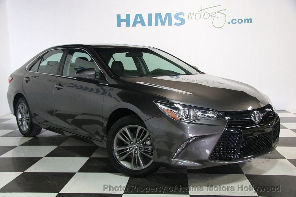 2017 Toyota Camry Se Automatic 17312775 2