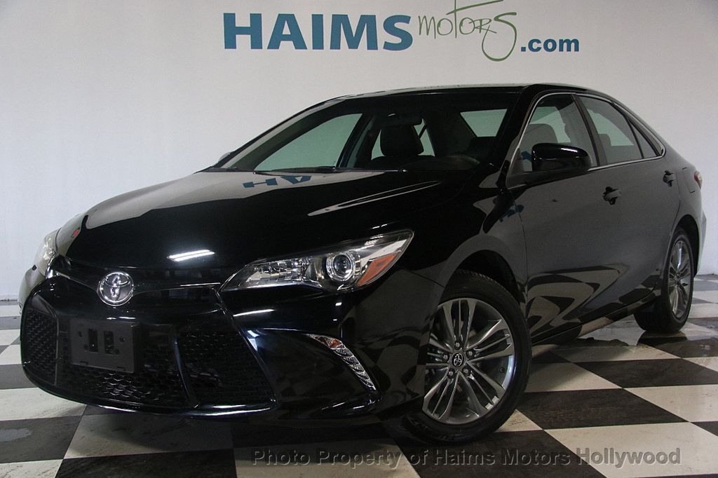 2017 Toyota Camry SE Automatic - 17382292 - 1