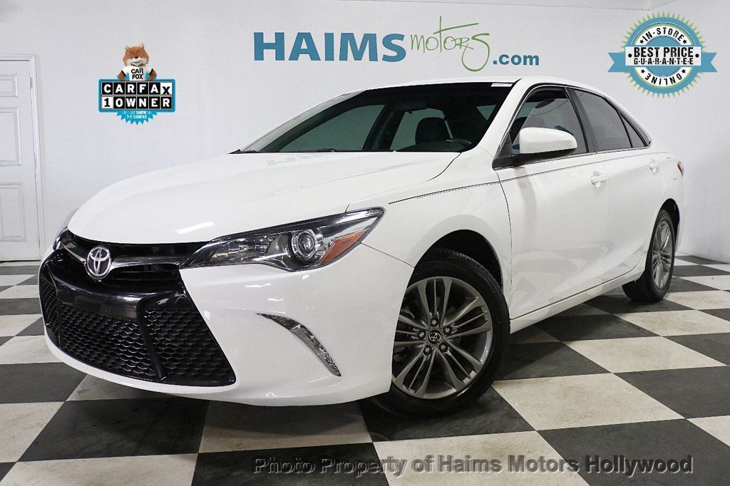 2017 Toyota Camry SE Automatic - 18692255 - 0