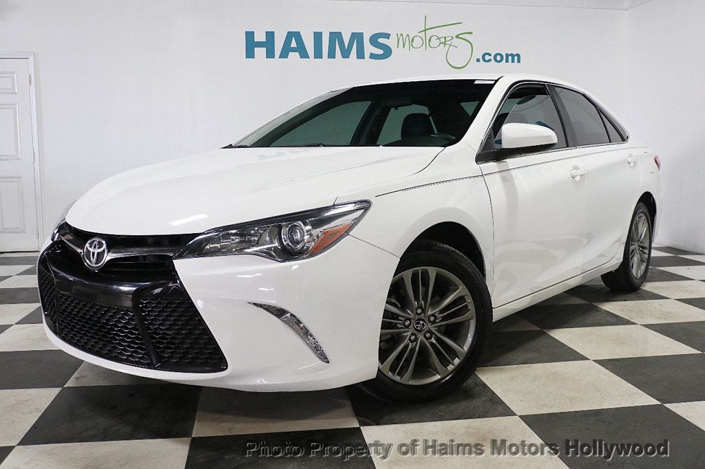 2017 Toyota Camry SE Automatic - 18692255 - 1