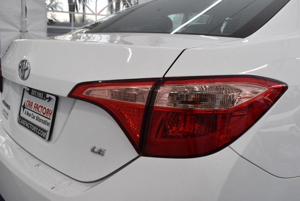 2017 Toyota Corolla L CVT - 18381963 - 1