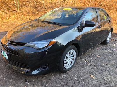 2017 Toyota Corolla LE CVT Automatic Sedan