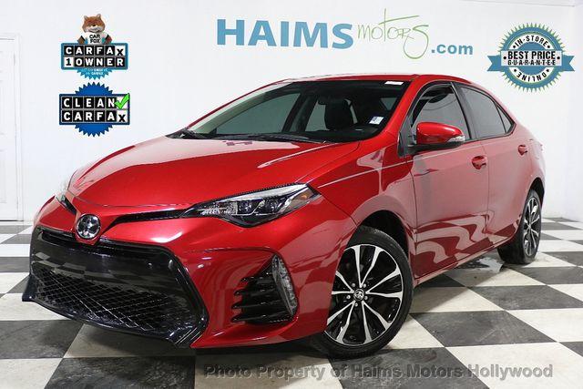 Toyota Hollywood Fl >> 2017 Used Toyota Corolla SE MODEL at Haims Motors Serving ...