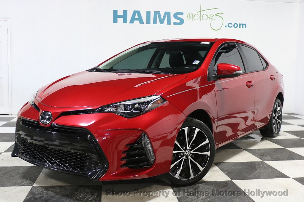 Toyota Diesel Truck >> 2017 Used Toyota Corolla SE MODEL at Haims Motors Serving Fort Lauderdale, Hollywood, Miami, FL ...