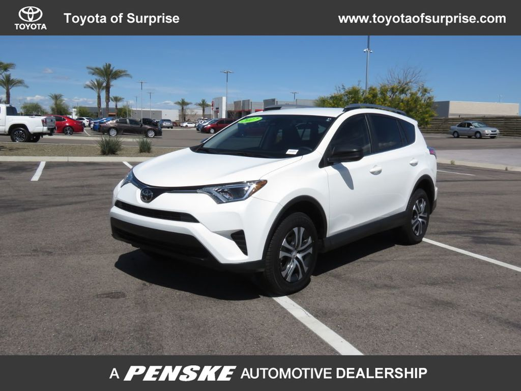 2017 Used Toyota Rav4 Le Fwd At Mini Of Tempe Az Iid 19874441