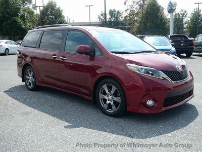 2017 Toyota Sienna SE FWD 8-Passenger Van