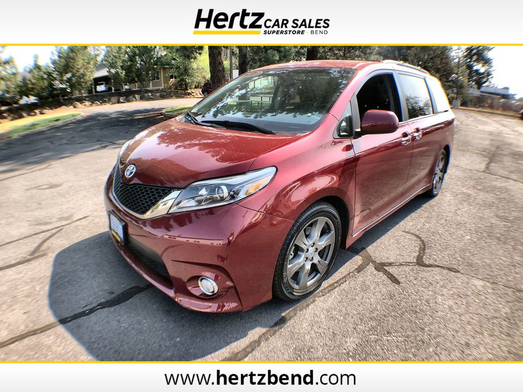 2017 Used Toyota Sienna Se Fwd 8 Passenger At Hertz Car Sales Of Bend Or Iid 20148512