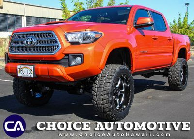 2017 Toyota Tacoma For Sale >> 2017 Used Toyota Tacoma Lifted Trd Sport Double Cab 5 Bed V6 4x2 Automatic At Choice Automotive Serving Honolulu Hi Iid 18922519