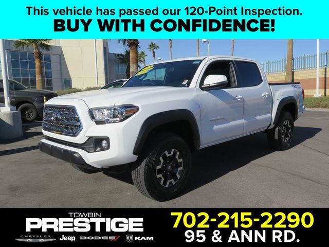 2017 Toyota Tacoma Trd Off Road Double Cab 5 Bed V6 4x2 Automatic 17183372