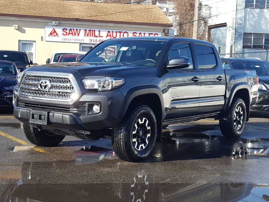 2017 Used Toyota Tacoma Trd Off Road Double Cab 5 Bed V6 4x4