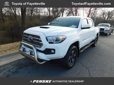 2017 Toyota Tacoma TRD Sport Double Cab 5' Bed V6 4x4 Automatic Truck
