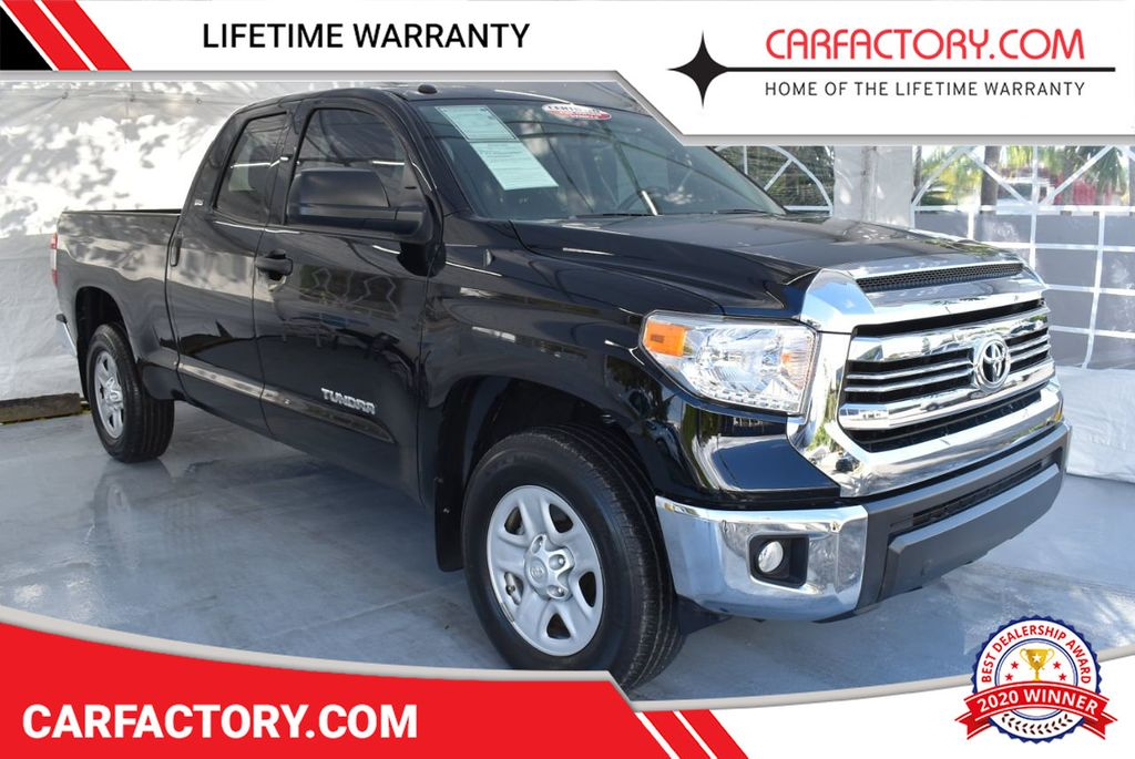 2017 Toyota Tundra 2WD SR5 Double Cab 6.5' Bed 4.6L - 18246537 - 0