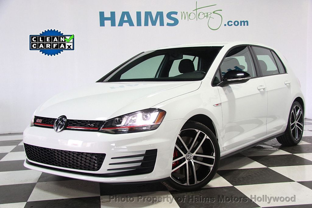 2017 Used Volkswagen Golf Gti At Haims Motors Serving Fort