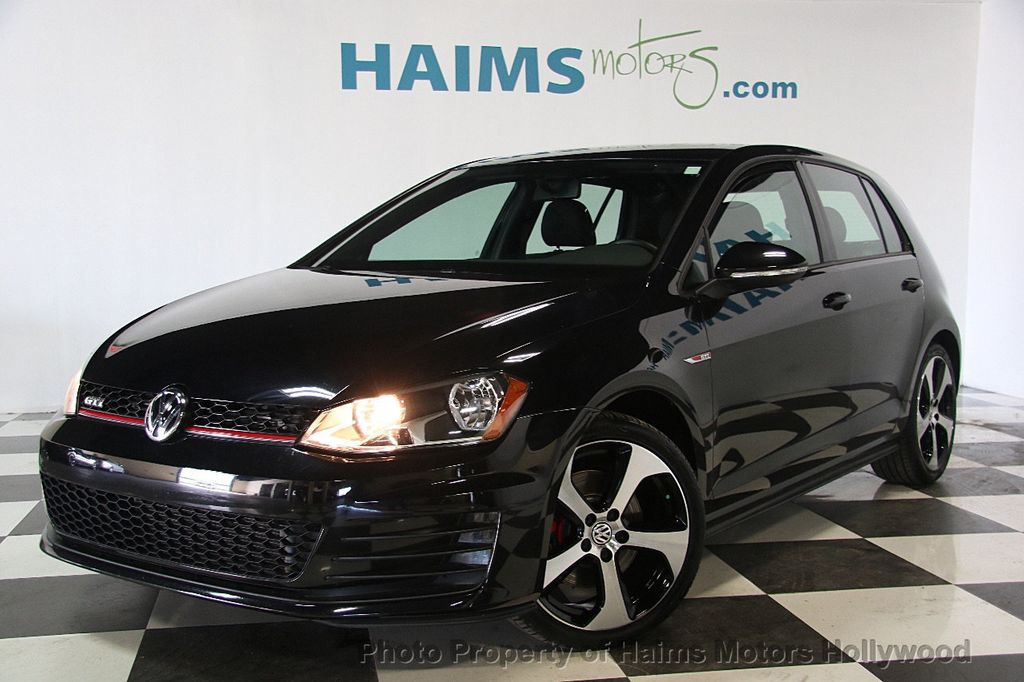2017 Used Volkswagen Golf GTI 2 0T 4 Door S DSG at Haims Motors