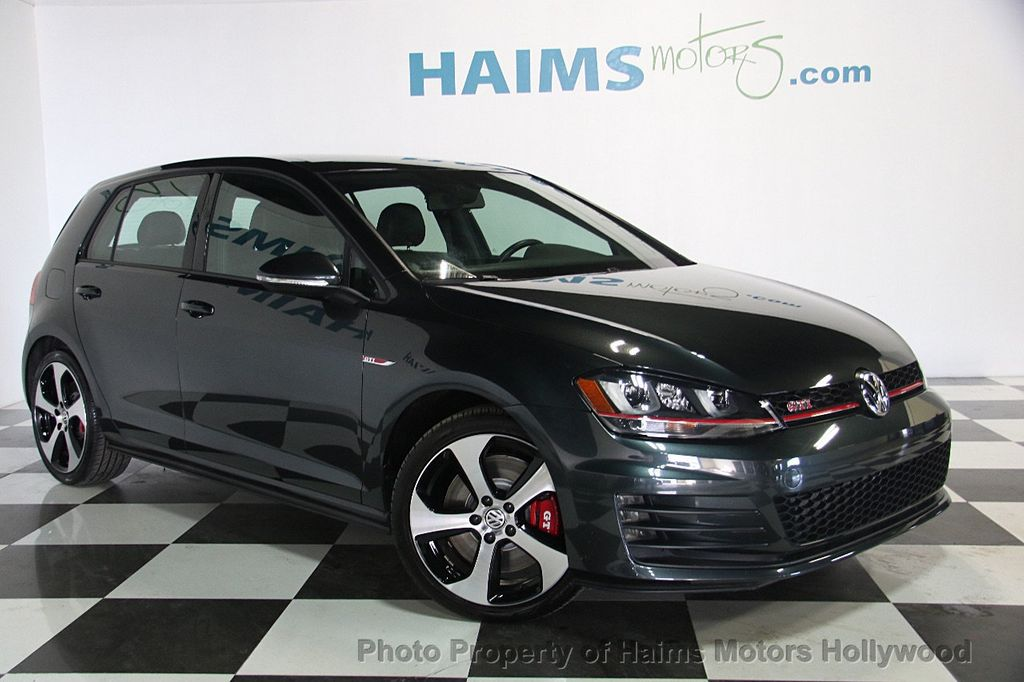 2017 Used Volkswagen Golf Gti 2 0t 4 Door Se Dsg At Haims