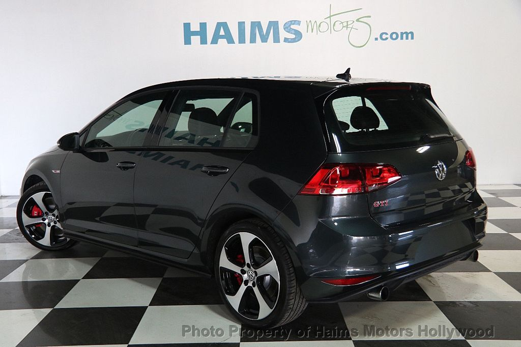 2017 Volkswagen Golf GTI 2.0T 4-Door SE DSG - 17245882 - 4