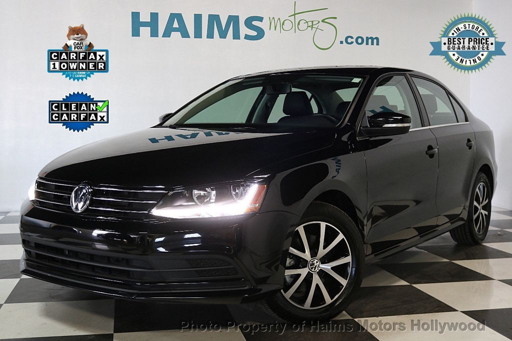 2017 used volkswagen jetta 1 4t se automatic at haims motors serving fort lauderdale hollywood. Black Bedroom Furniture Sets. Home Design Ideas