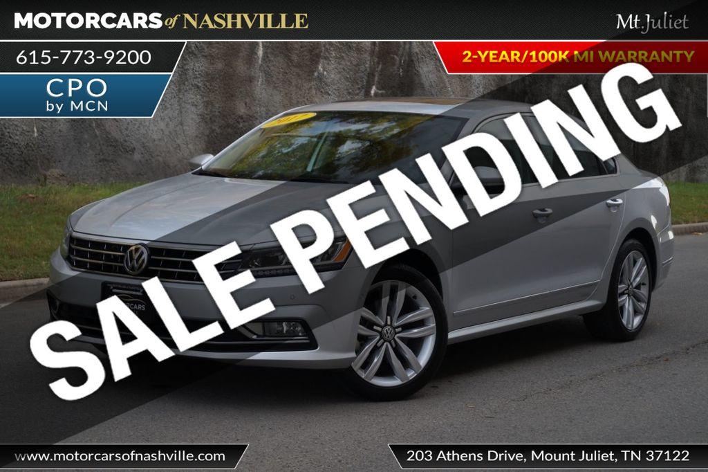 2017 Volkswagen Passat 1.8T SEL Premium Automatic - 18203177 - 0
