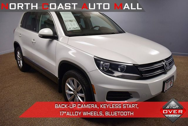 2017 Used Volkswagen Tiguan Wolfsburg At North Coast Auto Mall Serving Bedford Oh Iid 19643931
