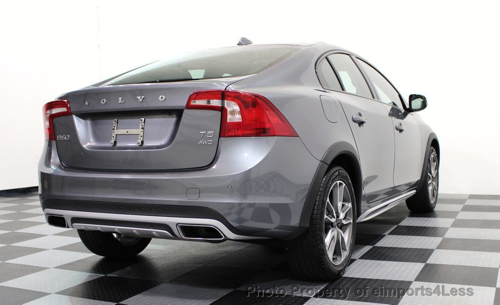2017 Volvo S60 Cross Country CERTIFIED S60 CROSS COUNTRY T5 AWD SPORT UTILITY - 16747590 - 28