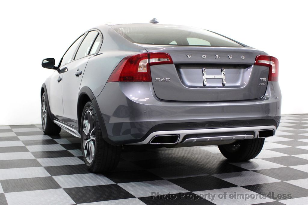 2017 Volvo S60 Cross Country CERTIFIED S60 CROSS COUNTRY T5 AWD SPORT UTILITY - 16747592 - 39