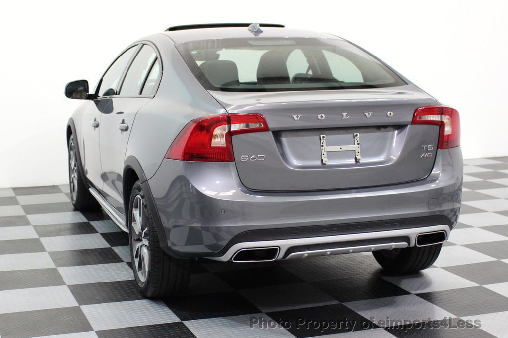 2017 Volvo S60 Cross Country CERTIFIED S60 CROSS COUNTRY T5 AWD SPORT UTILITY - 16747592 - 40