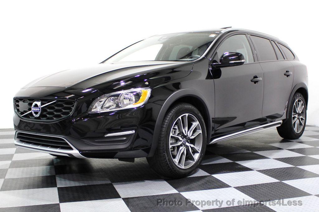 2017 Used Volvo V60 Cross Country CERTIFIED V60 CROSS COUNTRY T5 AWD CAMERA NAVI at ...