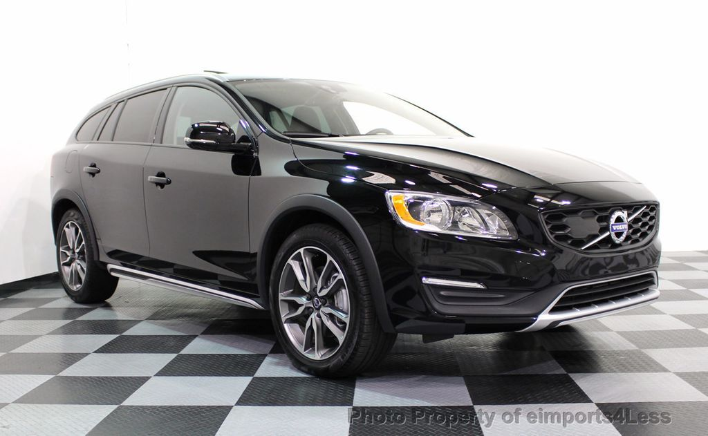 2017 Used Volvo V60 Cross Country CERTIFIED V60 CROSS COUNTRY T5 AWD CAMERA NAVI at ...