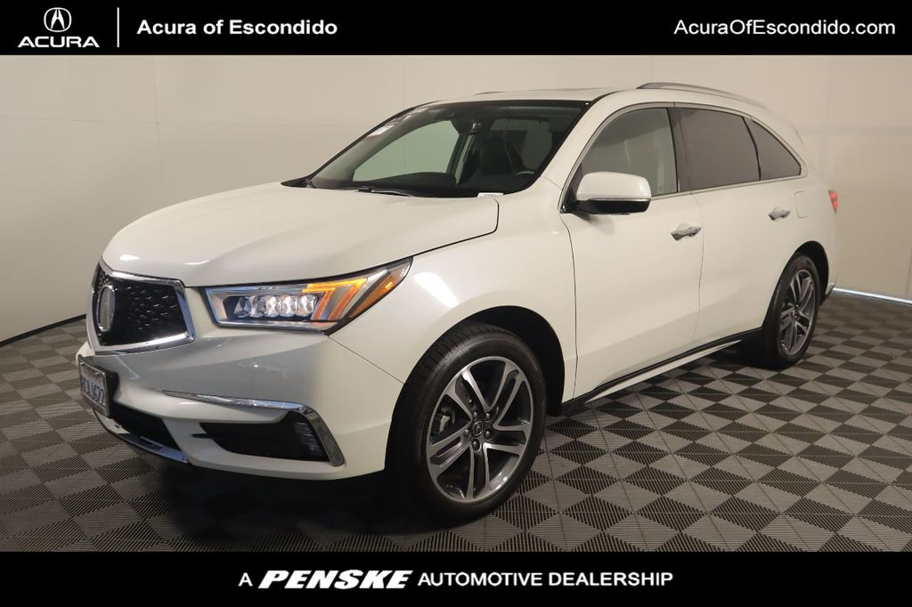 2018 Acura MDX FWD w/Advance/Entertainment Pkg - 20746448 - 0
