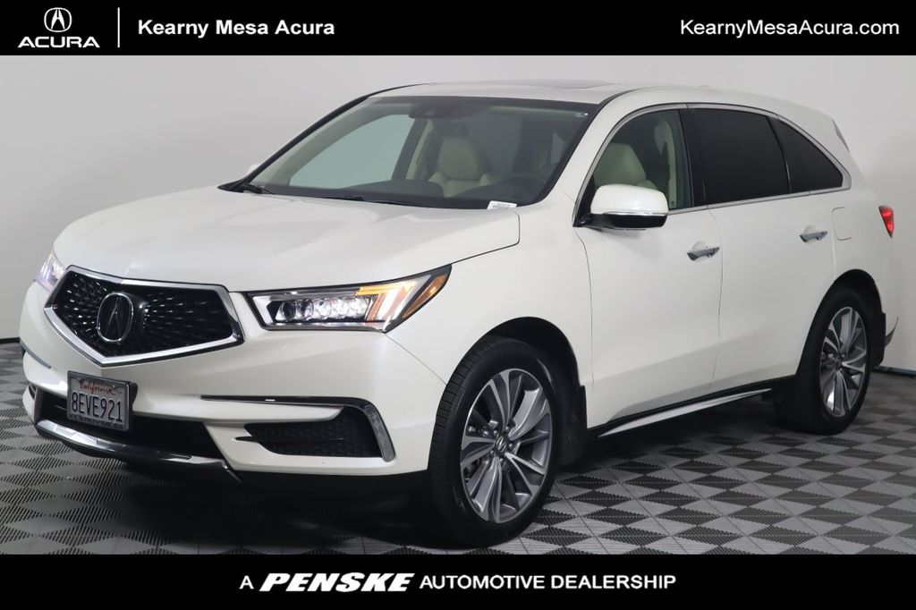 2018 Acura MDX SH-AWD w/Technology Pkg - 20732498 - 0