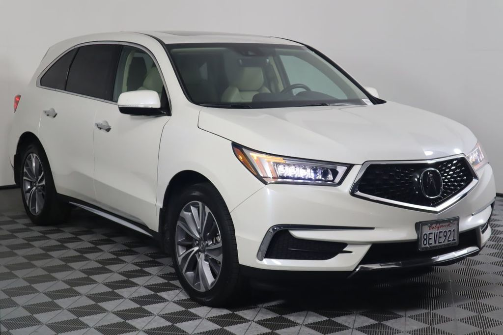 2018 Acura MDX SH-AWD w/Technology Pkg - 20732498 - 2