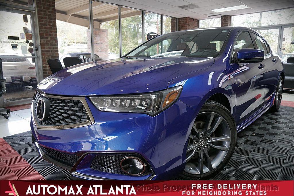 2018 Acura Tlx 3 5l Fwd W A Spec Pkg Sedan For Sale Lilburn Ga 31 750 Motorcar Com