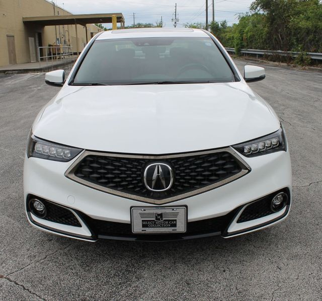 2018 Used Acura TLX 3.5L SH-AWD W/A-SPEC Pkg Red Leather